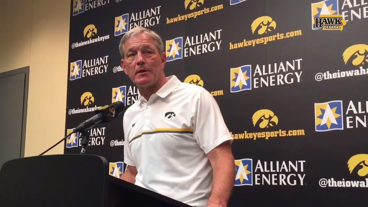 Kirk Ferentz laments missed opportunity