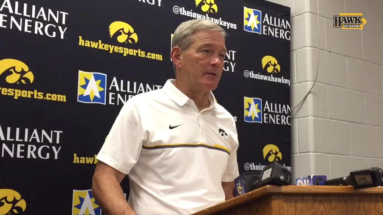 Kirk Ferentz's feelings on Purdue win
