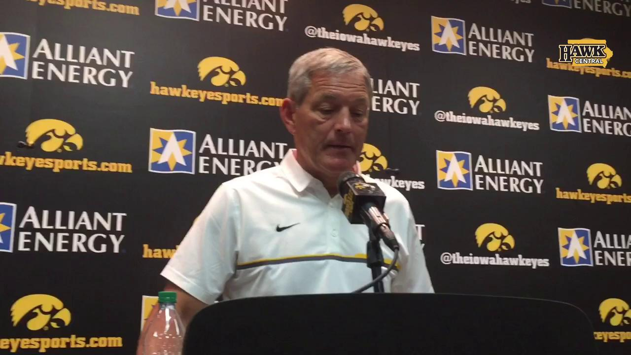 Kirk Ferentz's reaction to disappointing loss