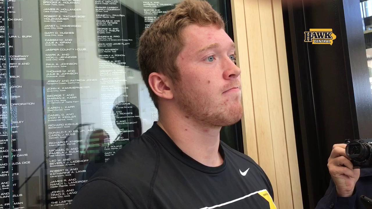 What is the challenge for Iowa's defense?