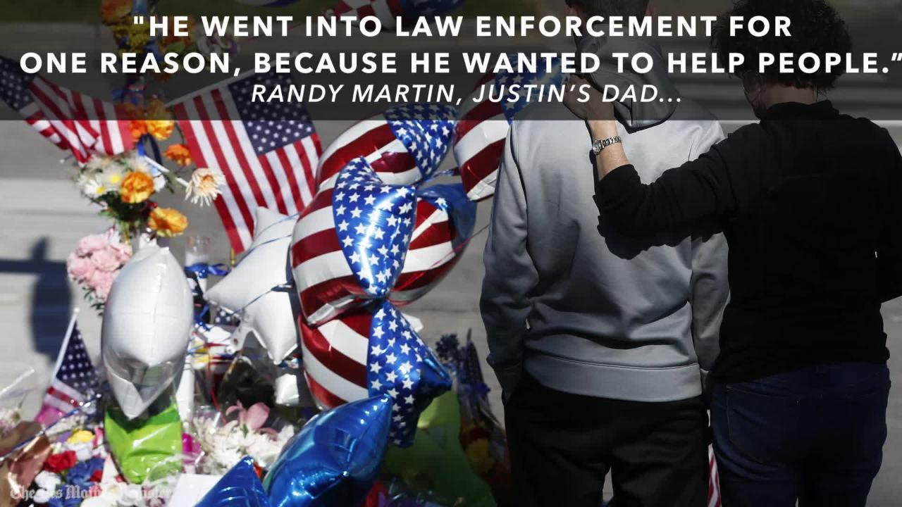 Remembering Urbandale Police Officer Justin Martin