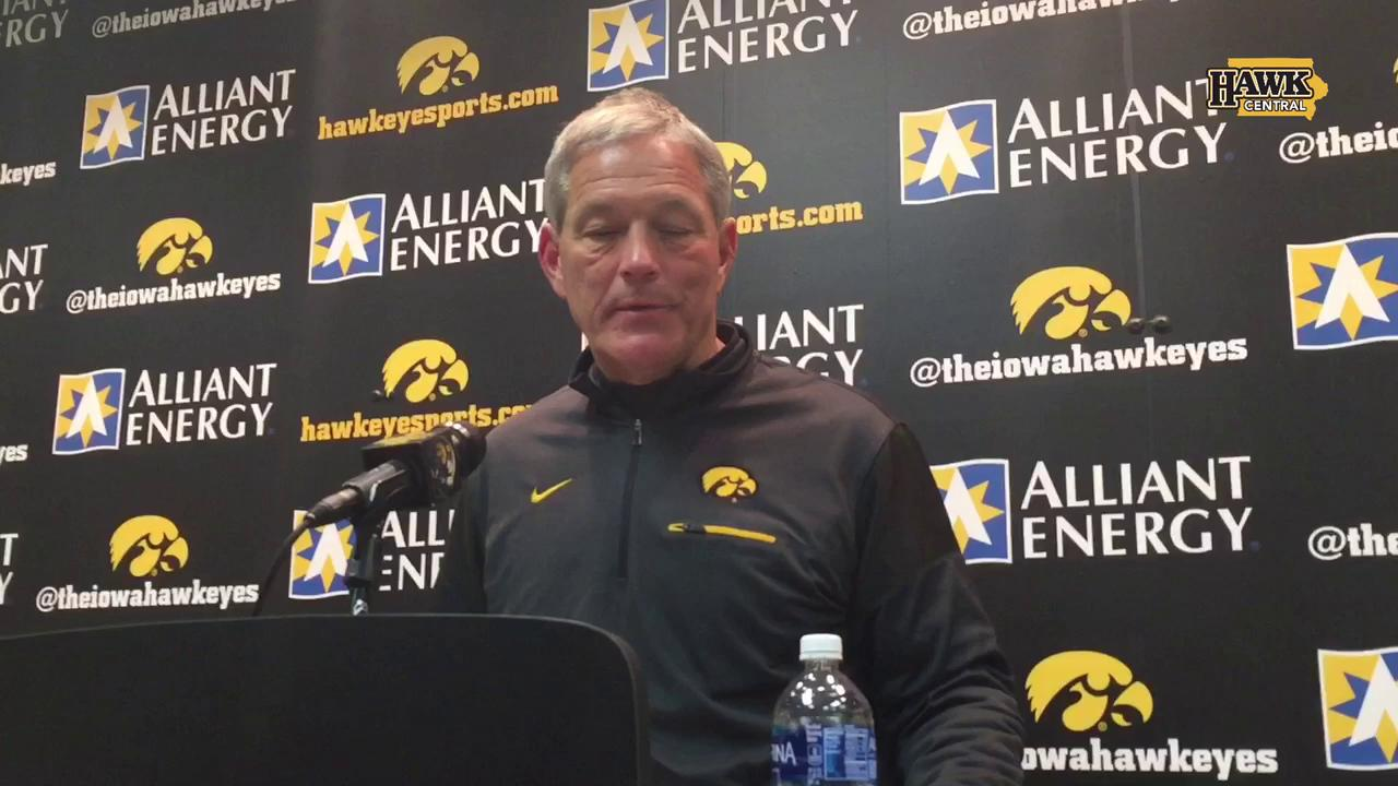 Kirk Ferentz on how Iowa bounced back