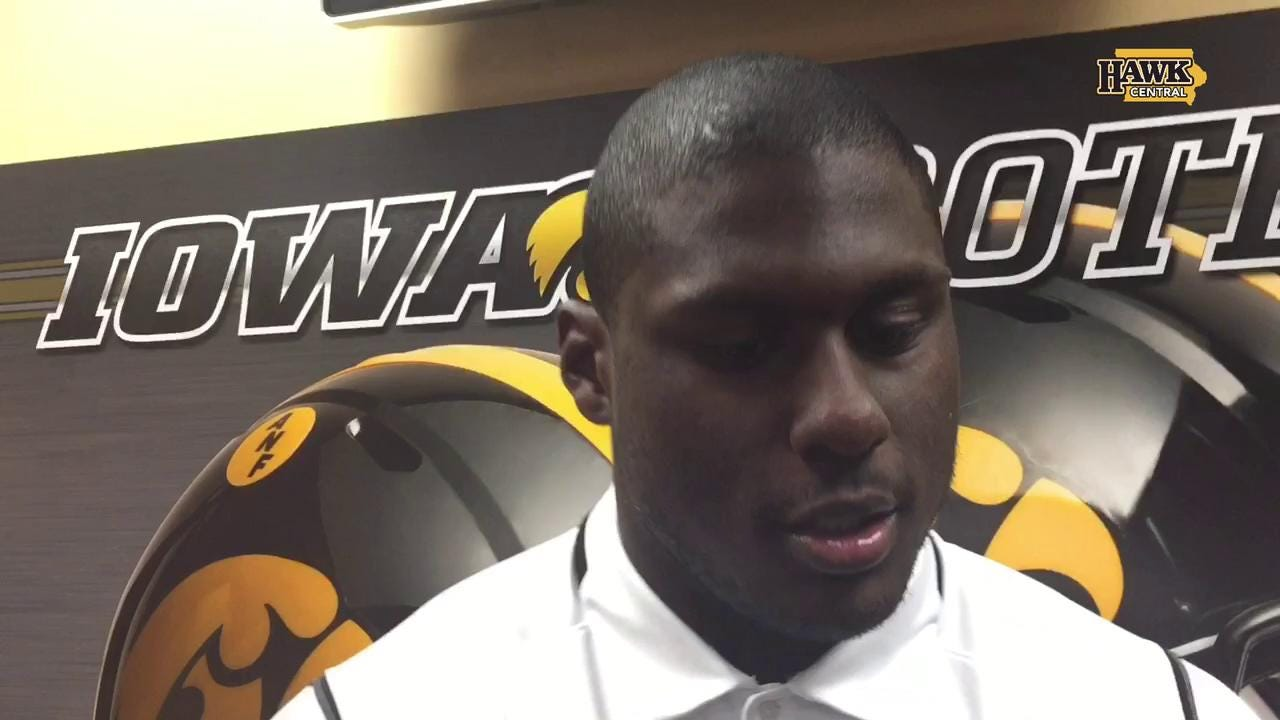 Jaleel Johnson on the three-game finish