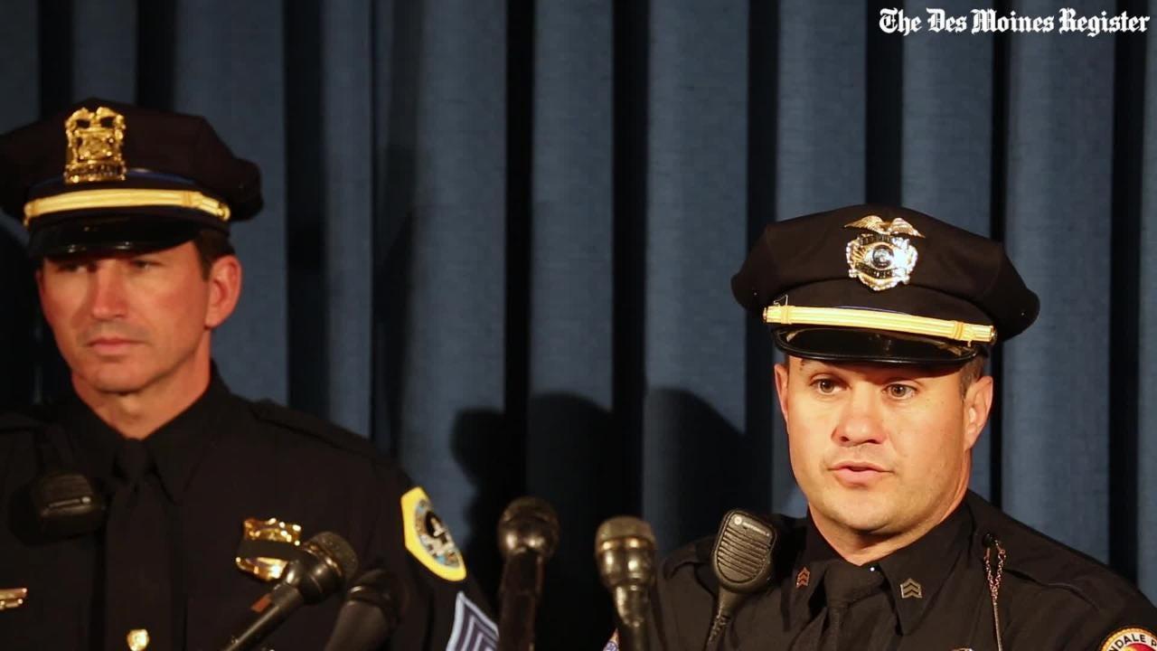 Des Moines Police describe suspect in ambush shooting