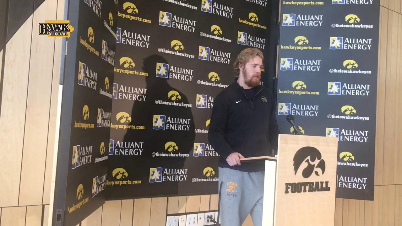 The C.J. Beathard helmet mystery