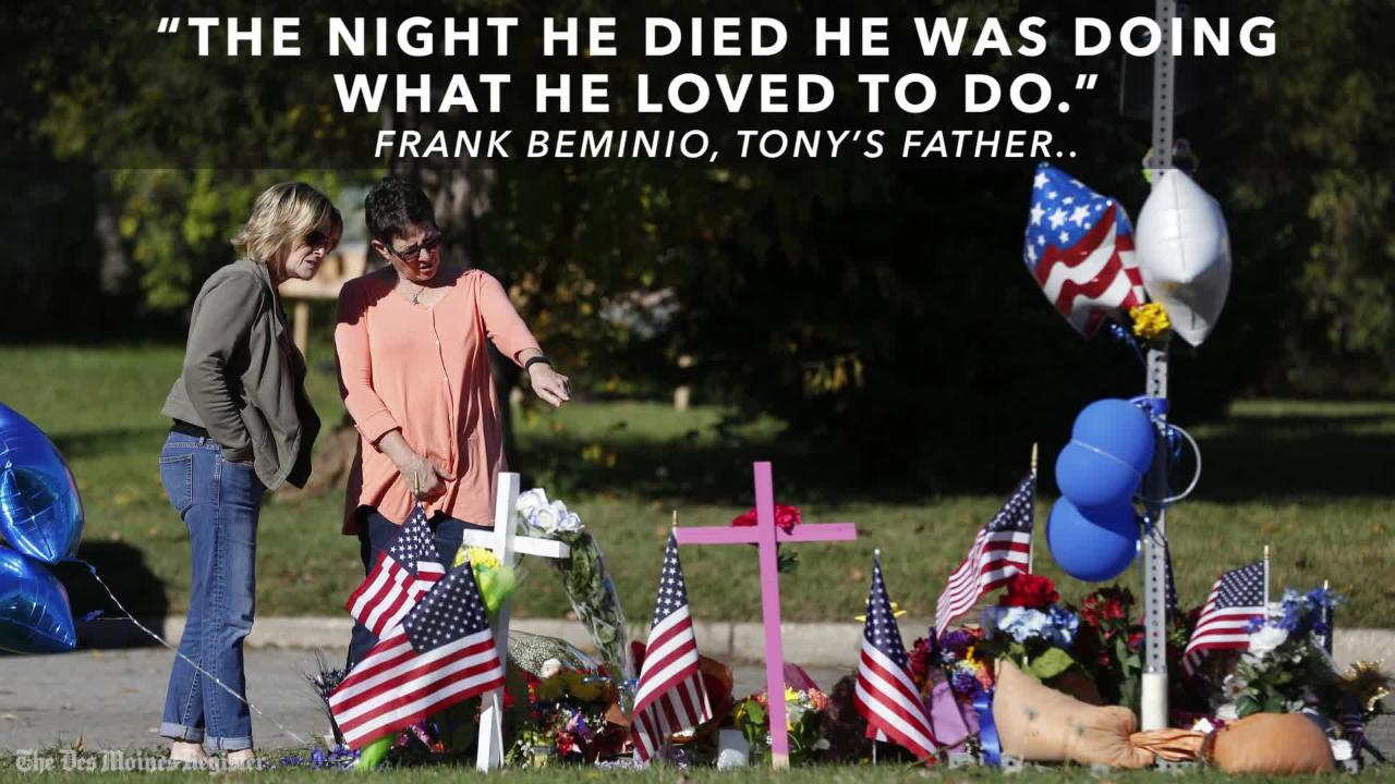 Remembering Des Moines police Sgt. Anthony Beminio