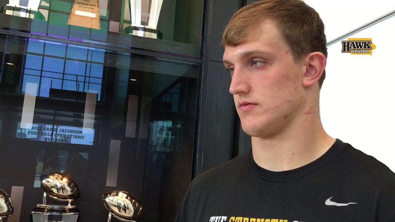 Iowa's Matt Nelson on the importance of Josey Jewell