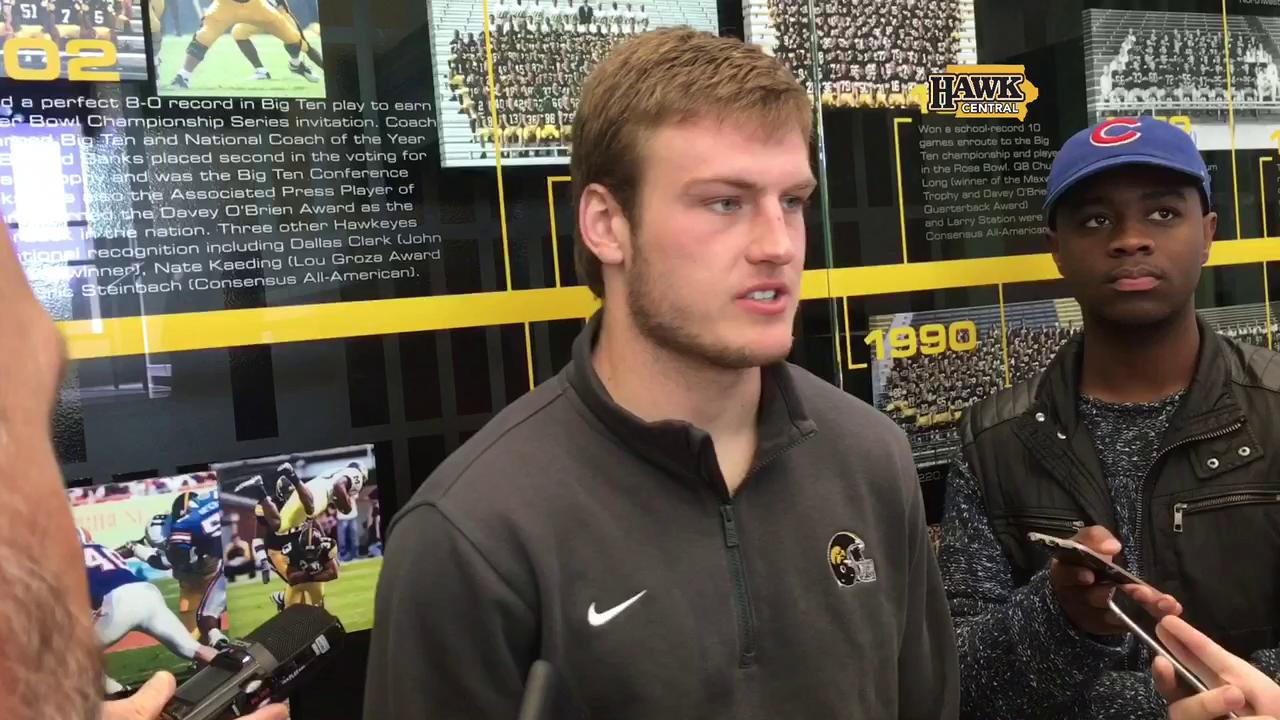 Ben Niemann on Iowa's mindset as underdogs