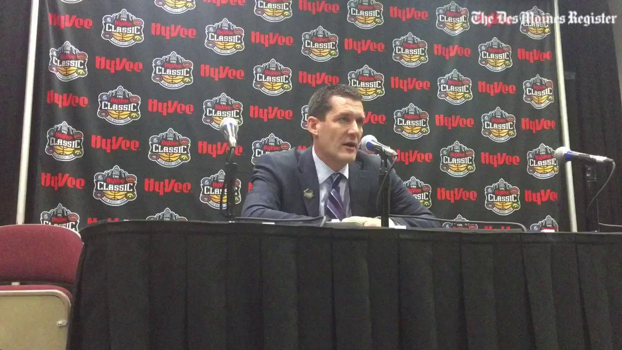 Ben Jacobson: First-half woes ruined UNI's chances