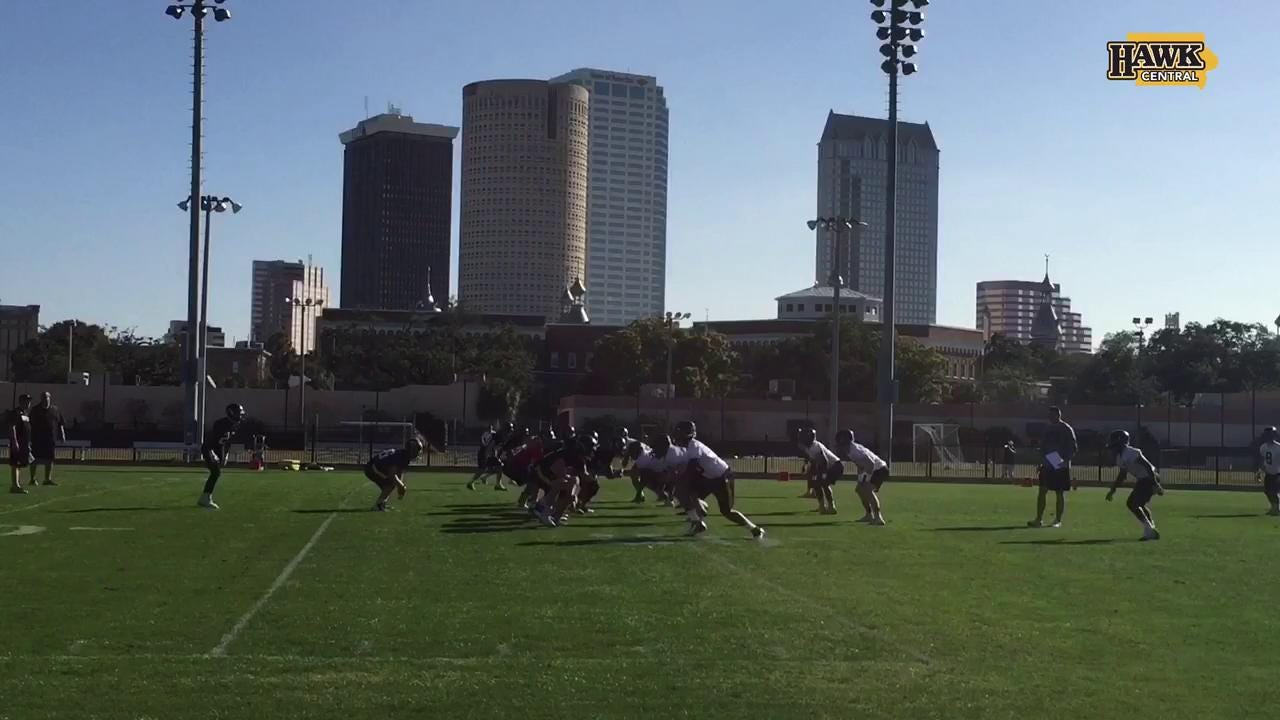 Sights and sounds from Hawkeye football practice