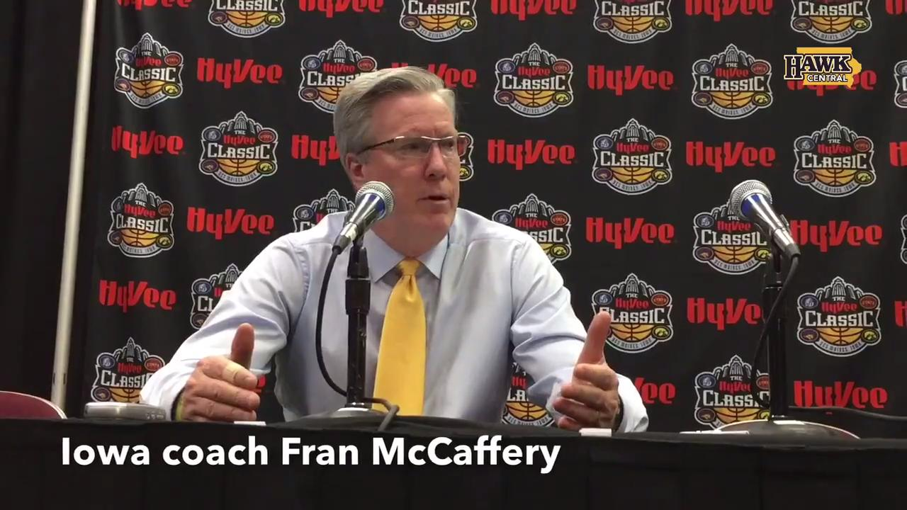Fran McCaffery on Hawkeyes' in-state sweep, defense