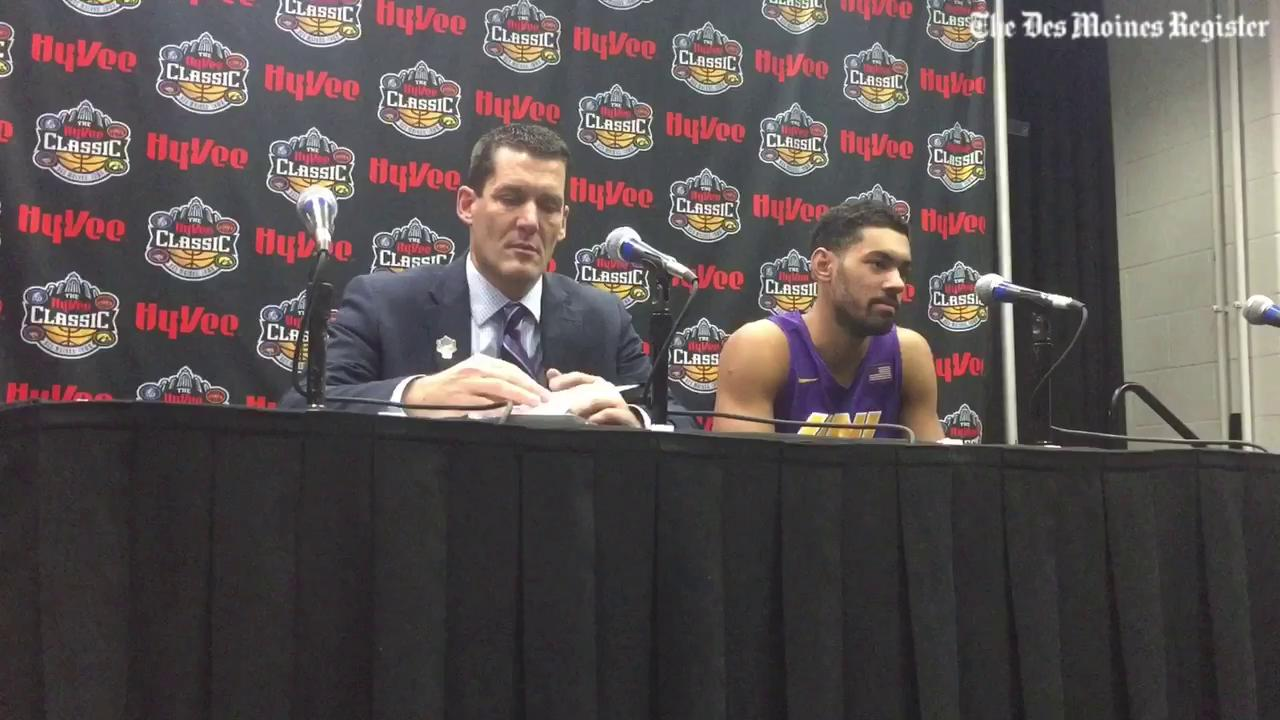 Jeremy Morgan explains UNI's offense struggles