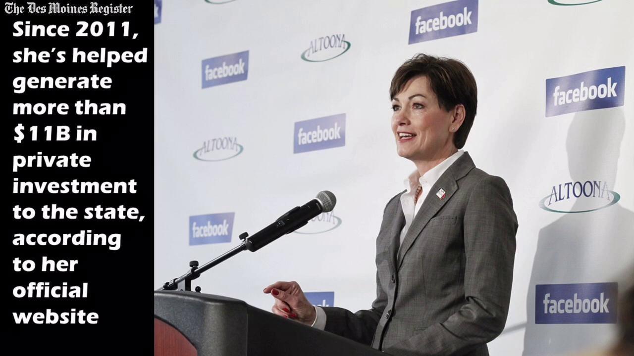 Meet Kim Reynolds, Iowa's future first female governor