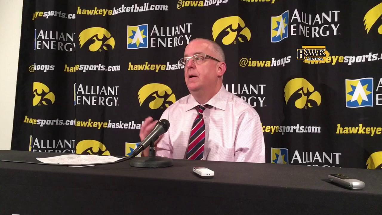 Omaha coach talks about the keys to beating Iowa
