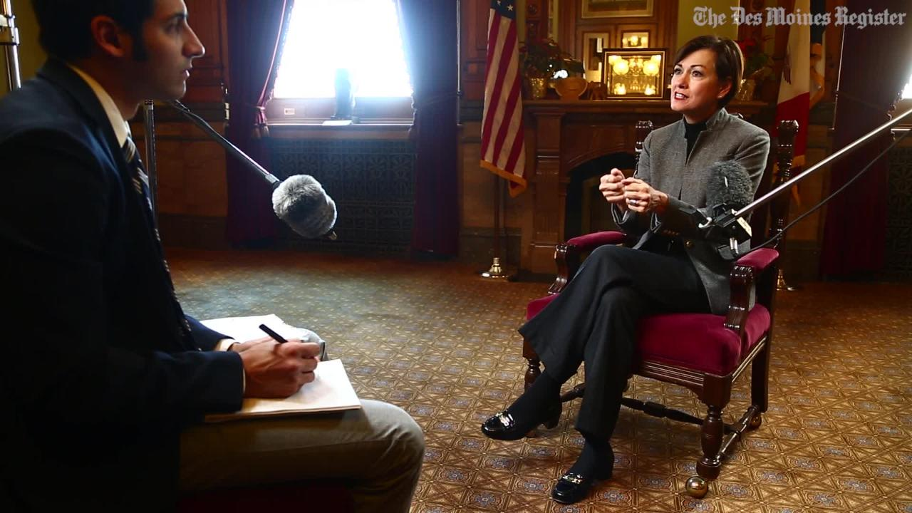 Lt. Gov. Kim Reynolds on keeping talented young people in Iowa