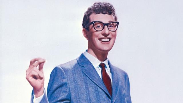 """Sevan Garabedian from Montreal, Canada, has spent the last decade tracking down fans who attended iconic rocker Buddy Holly's final """"Winter Dance Party"""" tour in 1959 in cities around the Midwest. Holly and other stars died in a plane crash on Feb. 3, 1959, north of Clear Lake, Iowa."""
