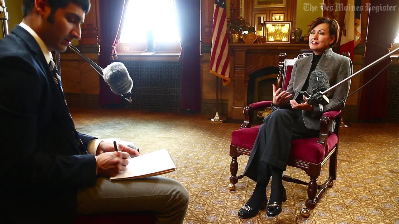 Lt. Gov. Kim Reynolds on being Iowa's first female governor