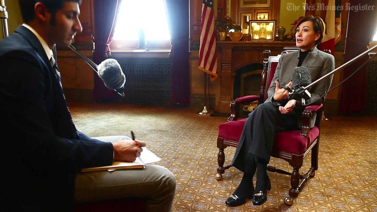 Lt. Gov. Kim Reynolds on why she is grateful for every day