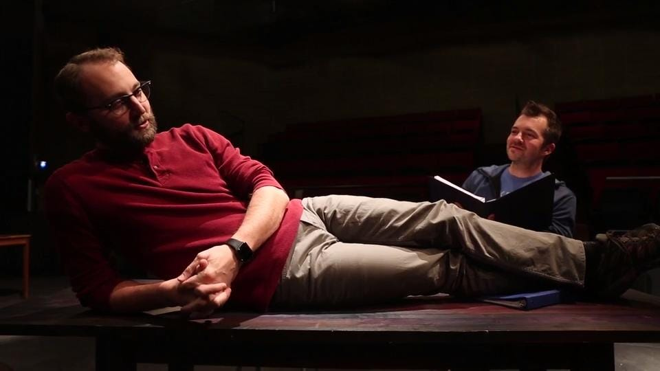 Raygun owner Mike Draper has written a play about a Midwestern clothing store that stars Iowa Nice Guy Scott Siepker. It is premiering at Grand View University's Viking Theater in February.