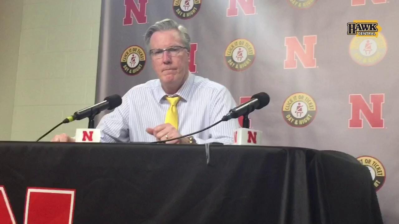 Fran McCaffery on late-game mistakes at Nebraska