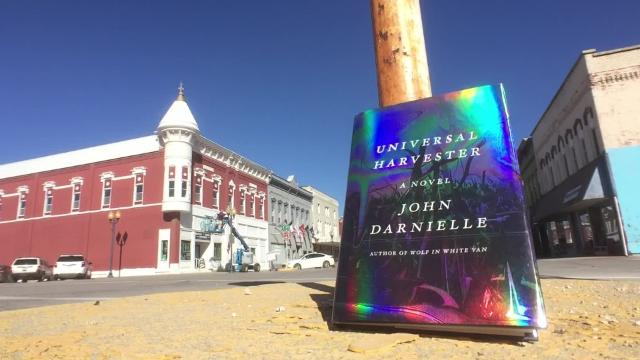 "John Darnielle's new novel, ""Universal Harvester,"" is set in Nevada, Iowa, in the late 1990s."