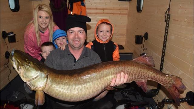 Man catches 49-inch muskie at Iowa lake