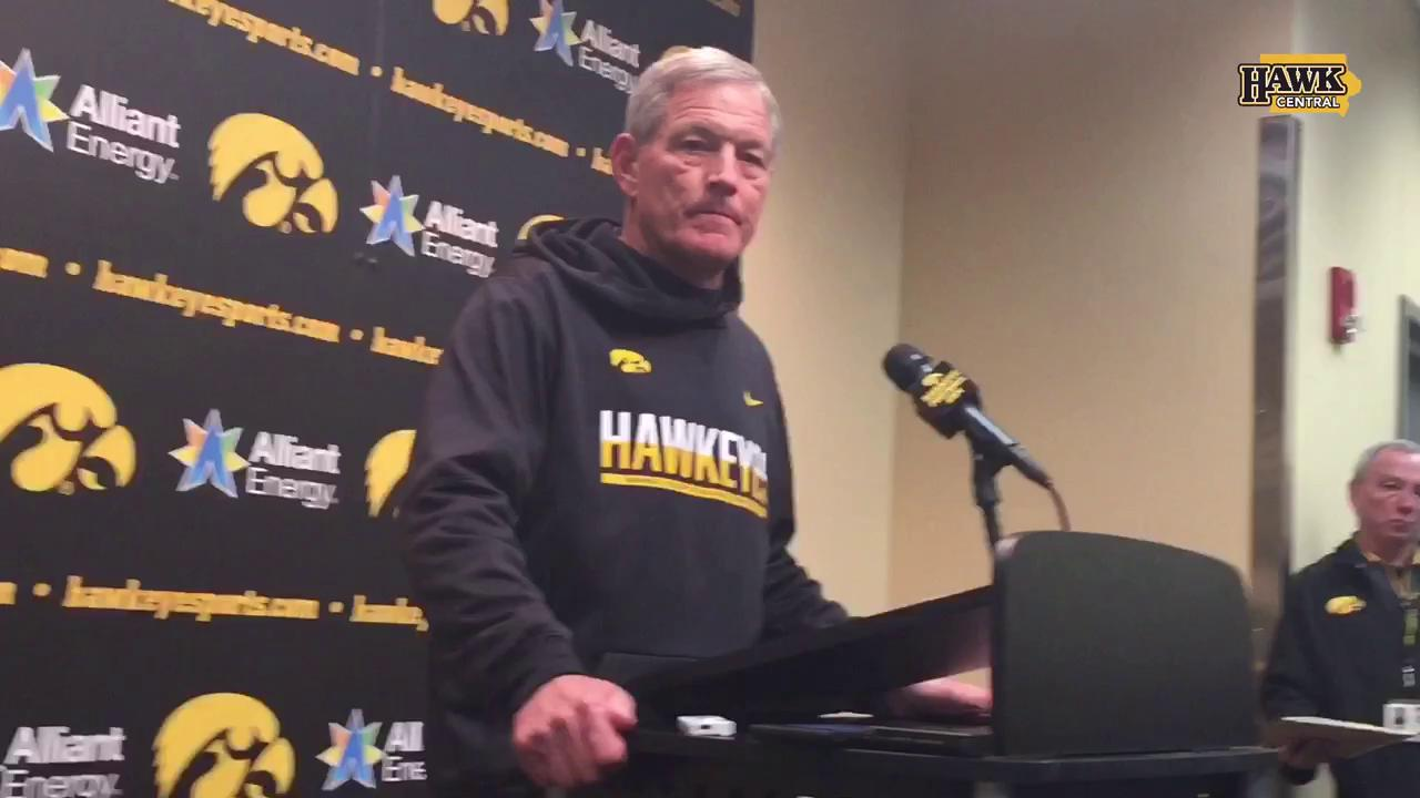 Kirk Ferentz on his QB situation