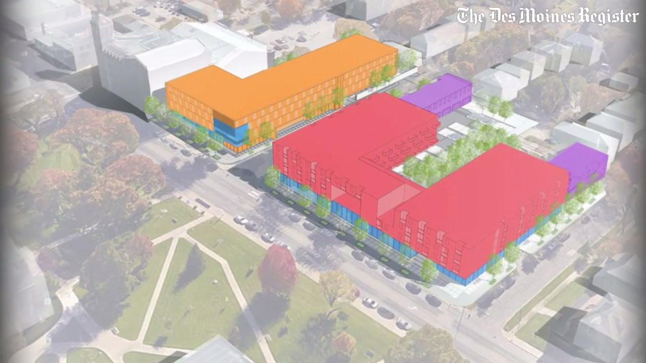 development in drake university neighborhood to include hilton hotel