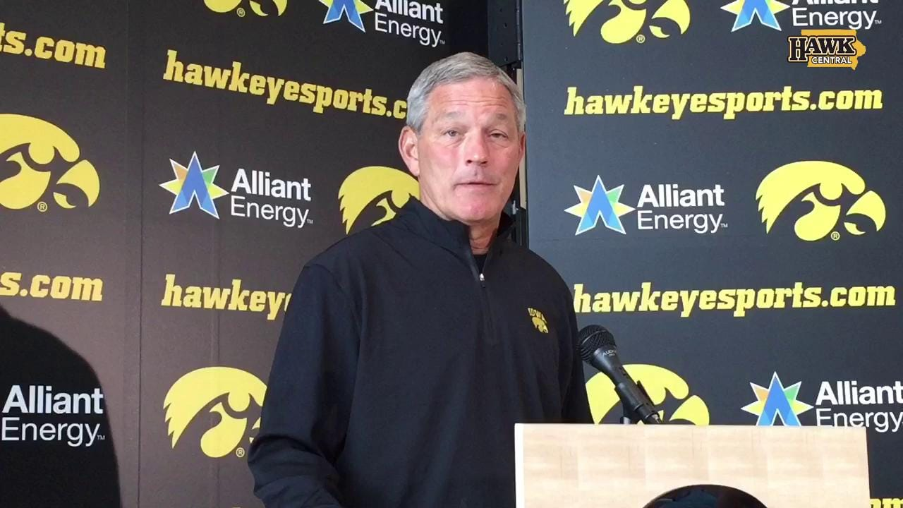 Kirk Ferentz thinks Iowa's schedule is plenty tough