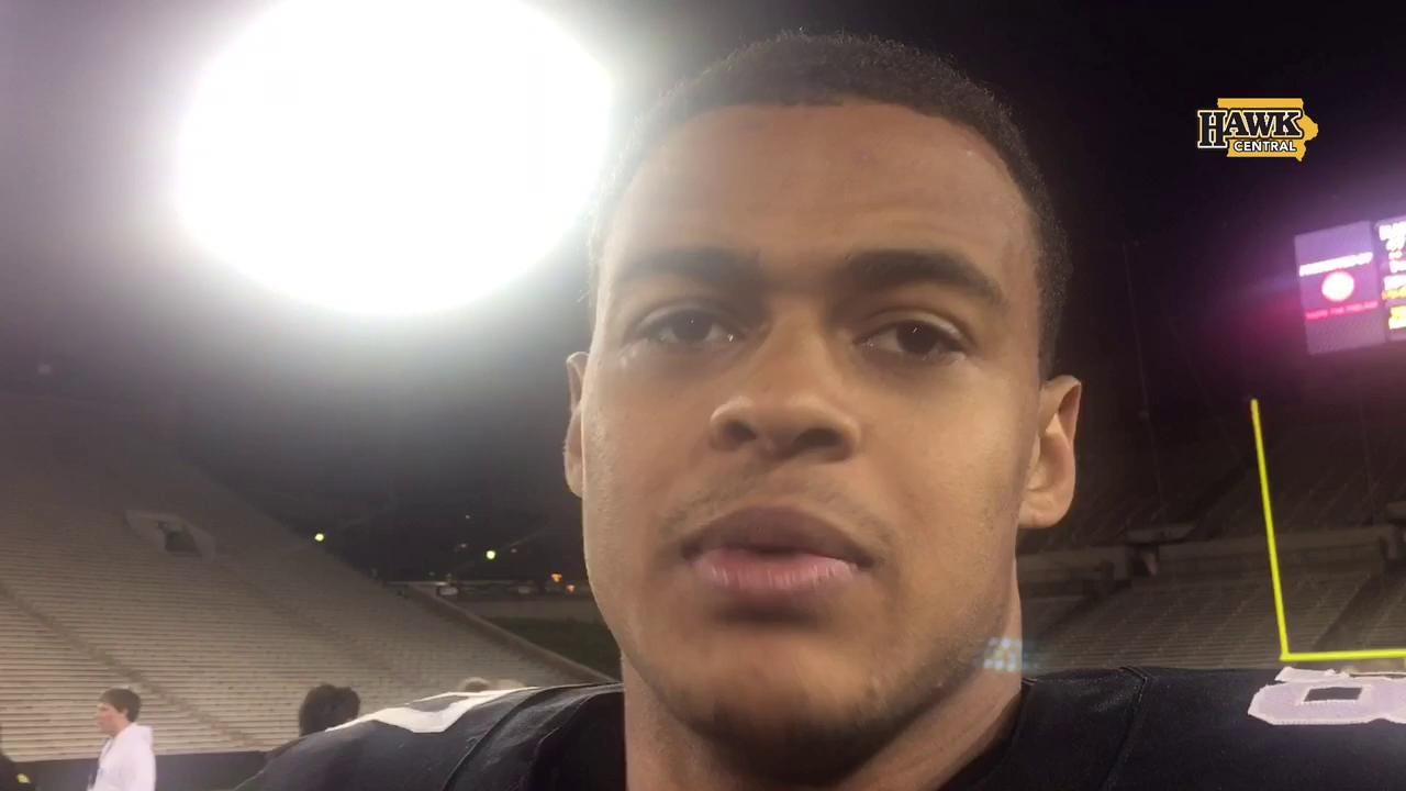 Noah Fant on what he liked about Iowa's offense