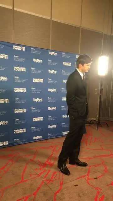 Ashton Kutcher press conference