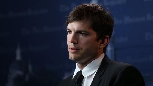Ashton Kutcher talks about plans for his Native Fund charity