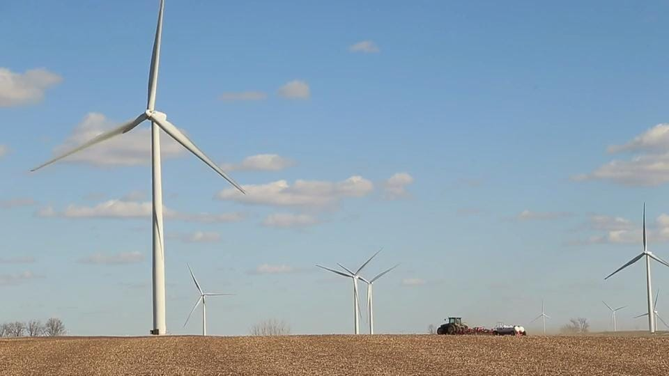 Daryl Haack believes wind turbines have been good for his community.