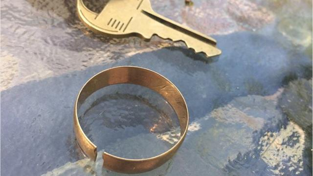 Tom O'Neill and his roommate found a ring in their backyard in 1997. O'Neill didn't begin a search for the ring's owner until 20 years later.