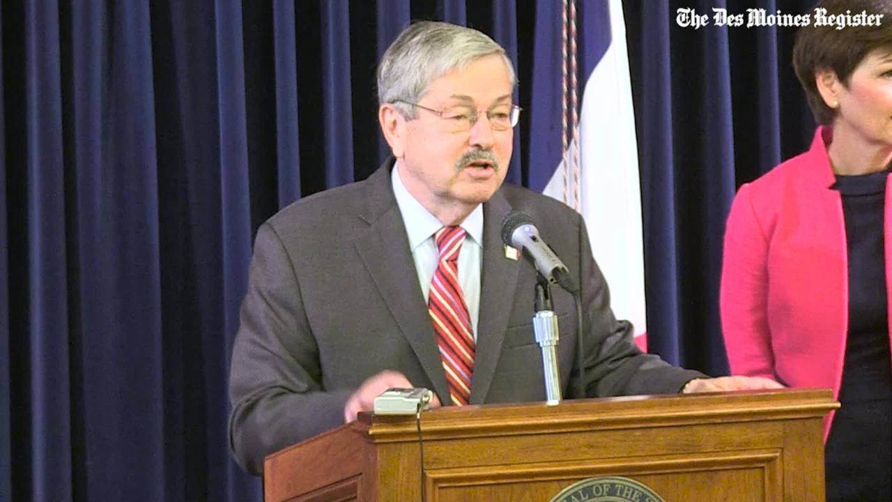 How Terry Branstad became ambassador to China
