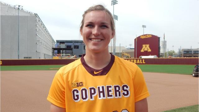 Kendyl Lindaman of Ankeny has hit 18 home runs as a Minnesota freshman. That's the school record and ranks among the NCAA softball leaders.