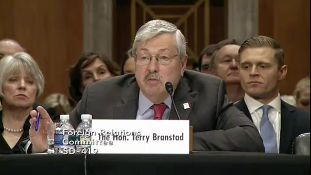 'It's mixed': Branstad on current U.S.-China relations