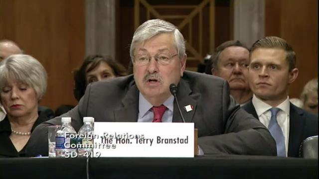 Branstad on currency manipulation in China