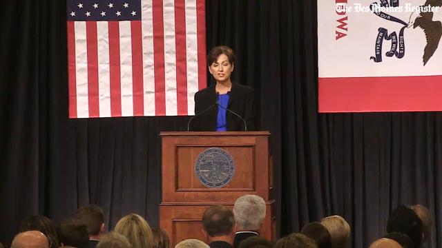 Reynolds wants to be known as more than Iowa's first female governor