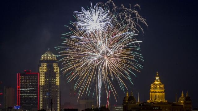 Legal fireworks? Probably limited in Des Moines metro