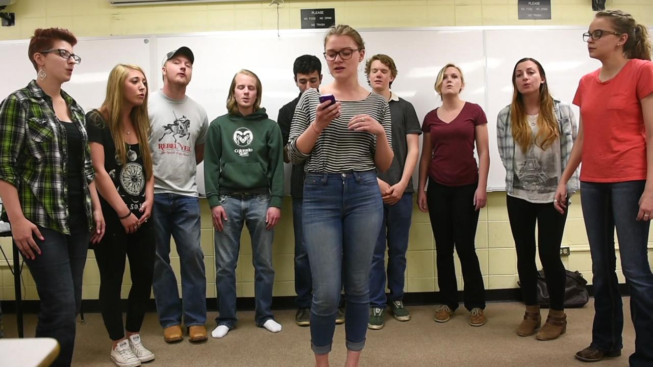 CSU a cappella group sings Apologize