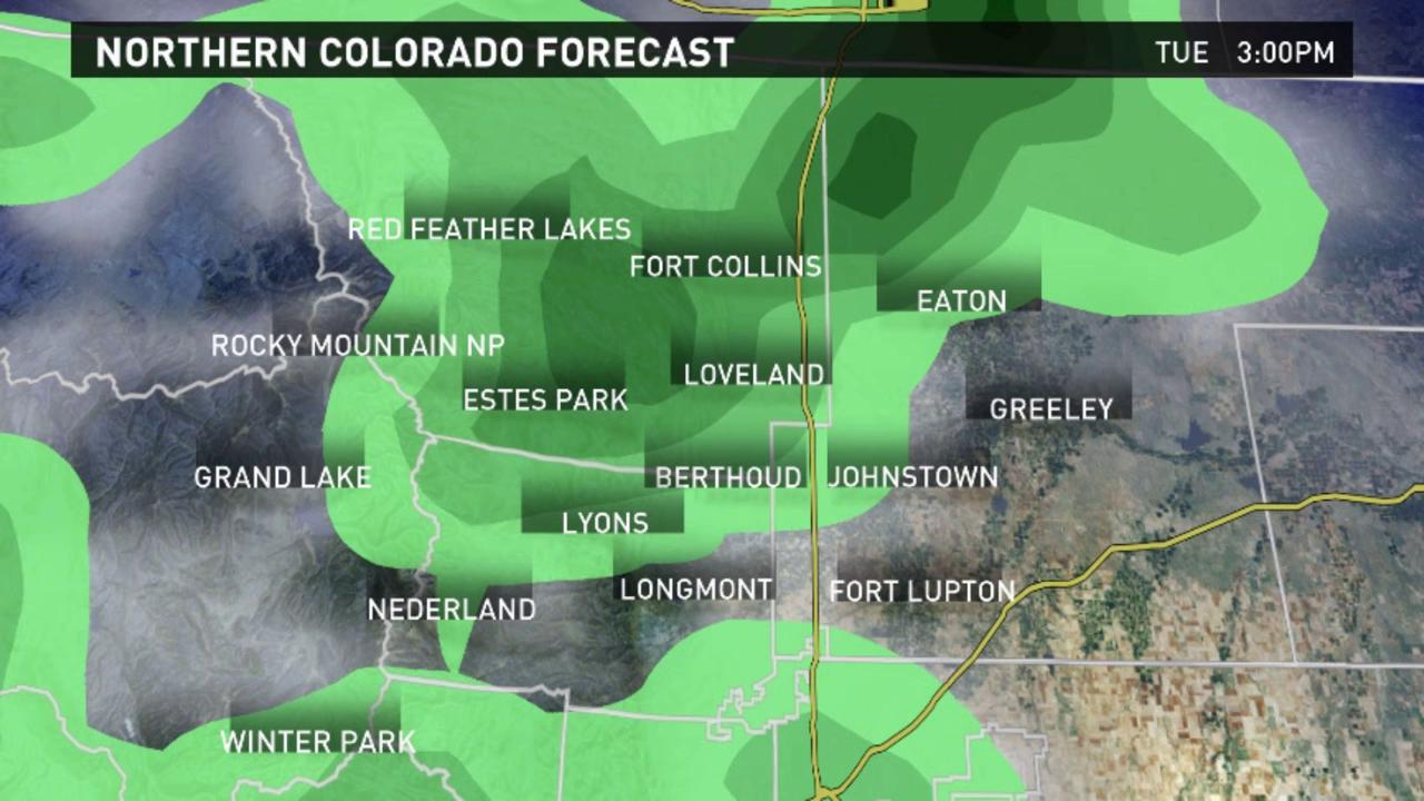 Rain continues this week in Fort Collins