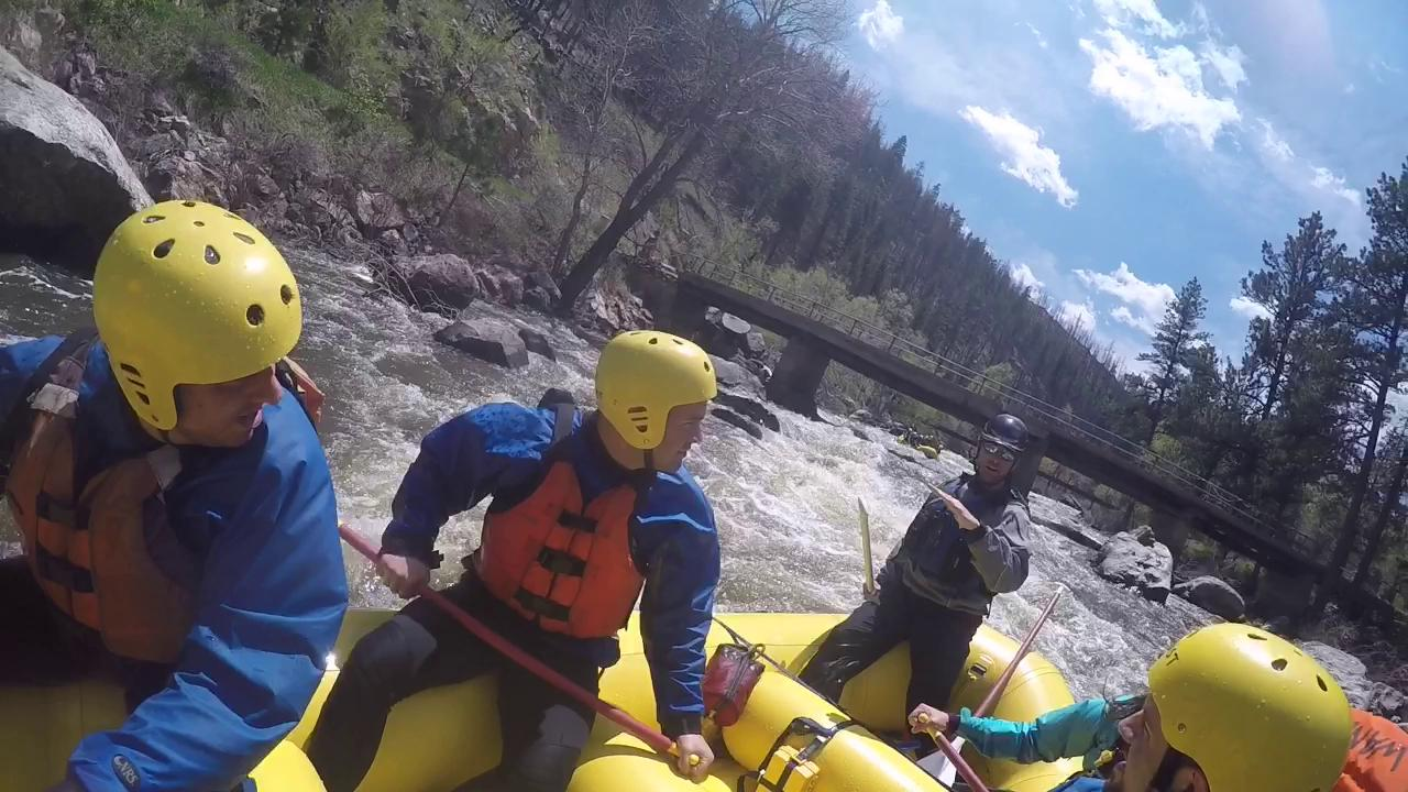 Rafting Poudre River a fun whitewater experience