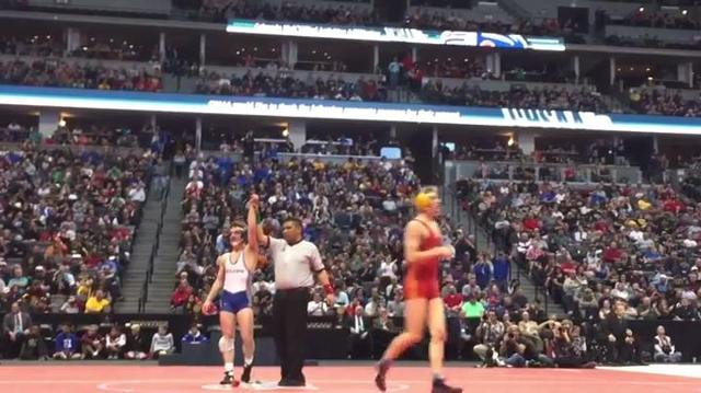 A look at all four matches for Jacob Greenwood as he won a 138-pound Class 5A state title, the third championship for the junior.