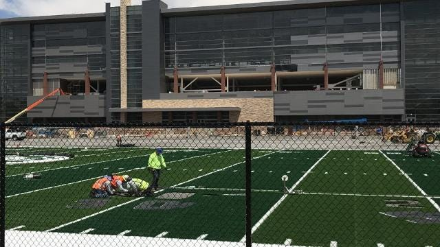 CSU football's new practice facility