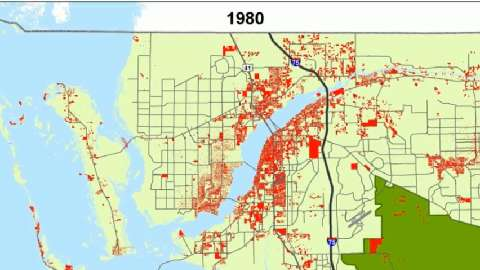 Change Can Be Seen In Old Maps Of Southwest Florida