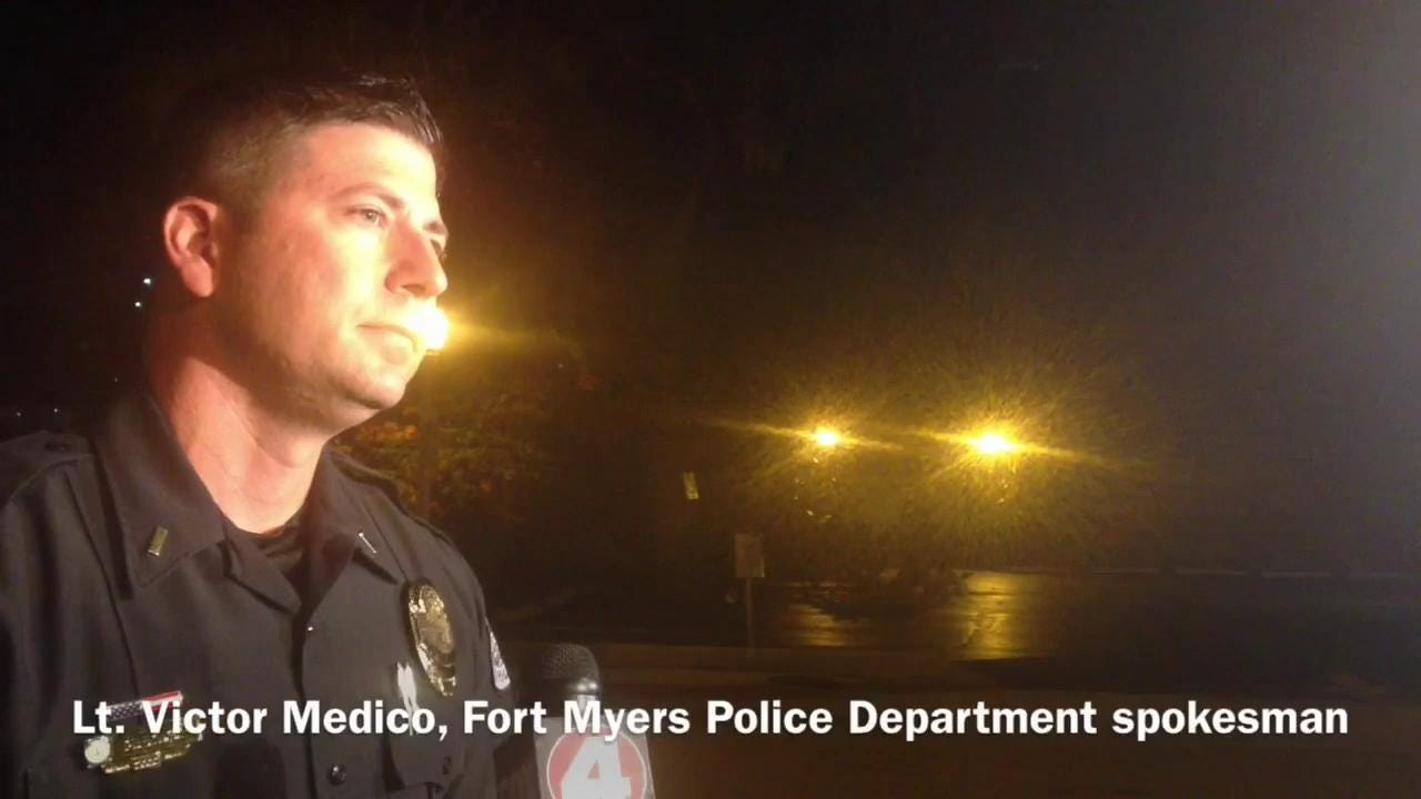 Fort Myers police conference on Zombicon shooting