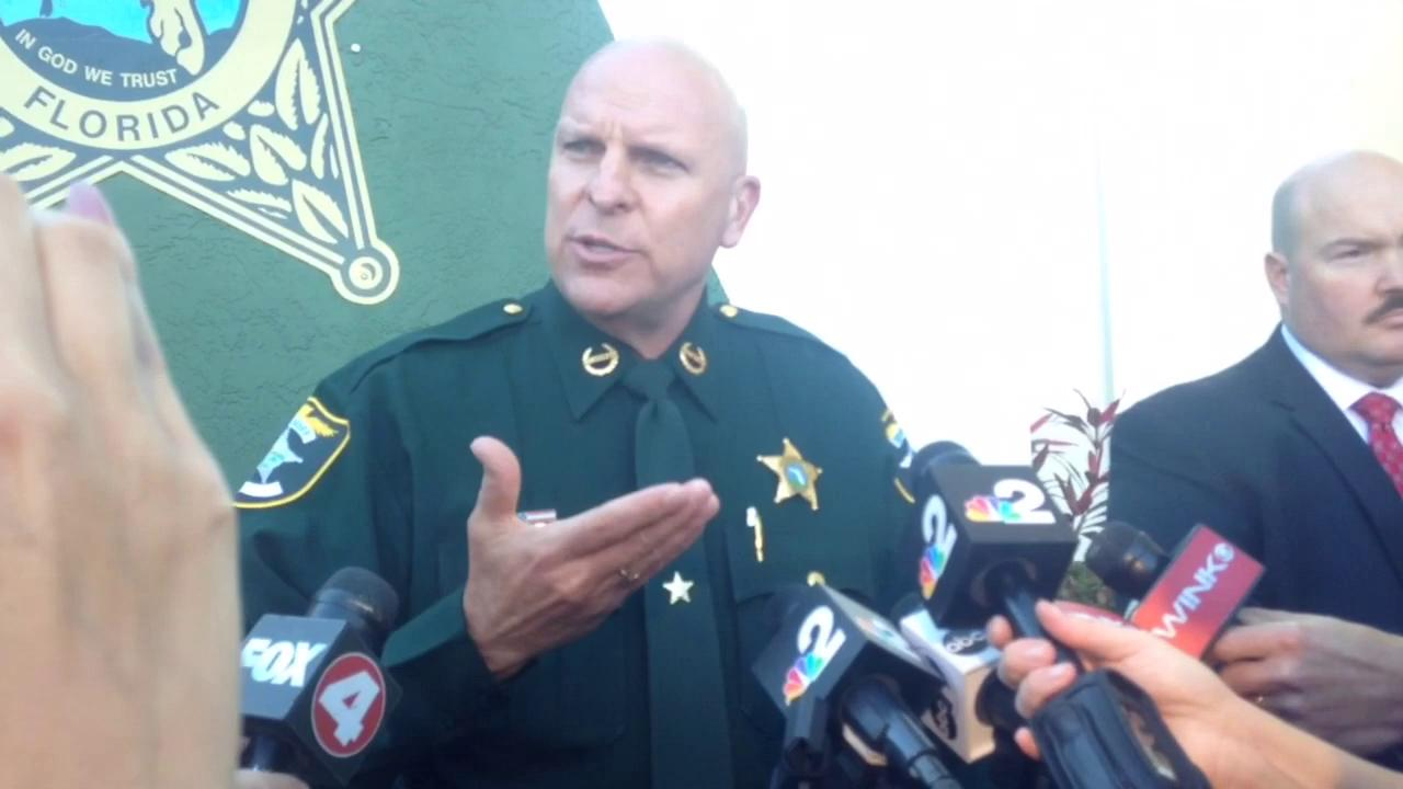 Sheriff Mike Scott Press conference in its entirety.