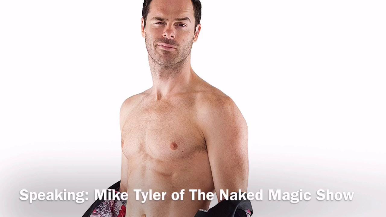 Naked magicians take stage Friday at Mann Hall in Fort Myers