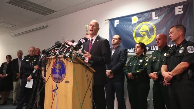Florida Gov. Rick Scott holds press conference in wake of Club Blu mass shooting